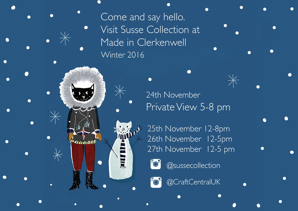 Made in Clerkenwell 2016 Susse Collection
