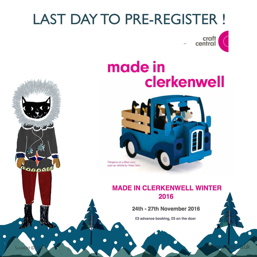 Made in Clerkenwell Winter 2016 Susse