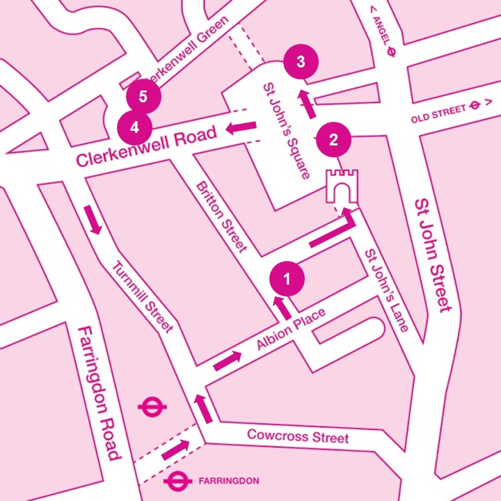 MIC16 Clerkenwelll map Susse