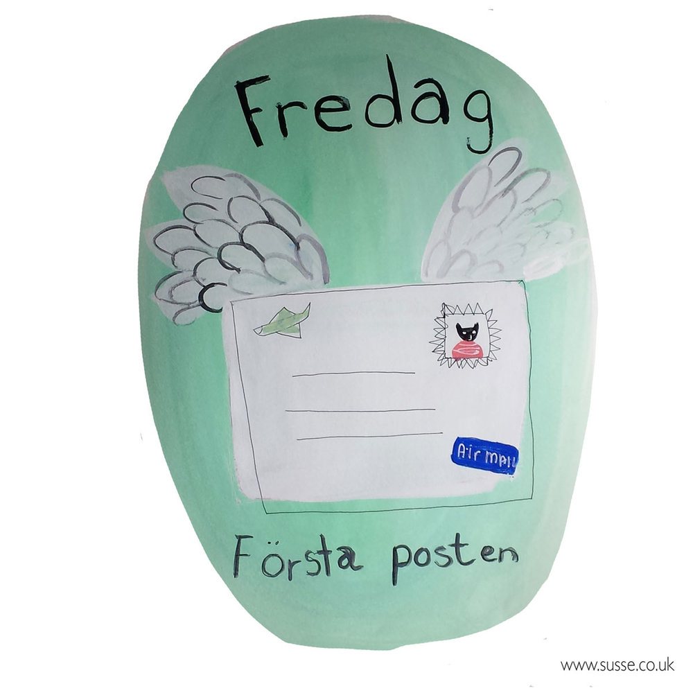 Friday First Mail Swedish Life Susse