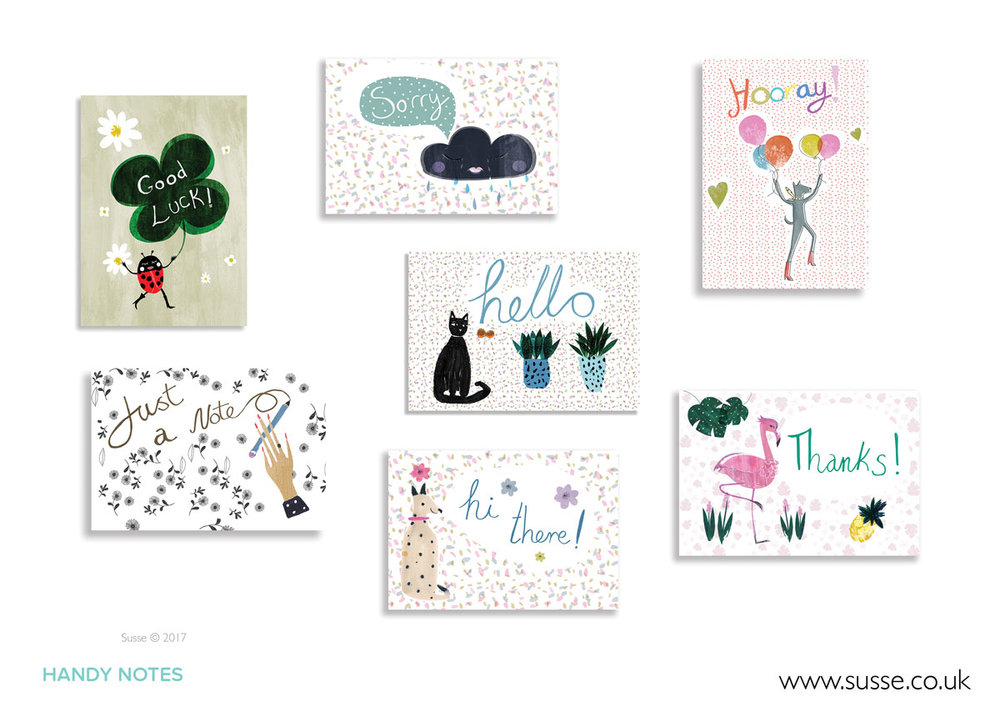 Handy Notes  Greeting Cards