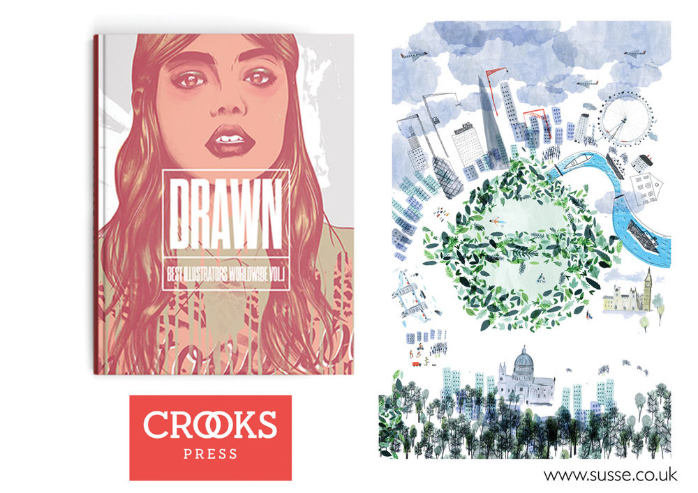 Crooks Press Drawn Vol 1 Top illustrators around the world
