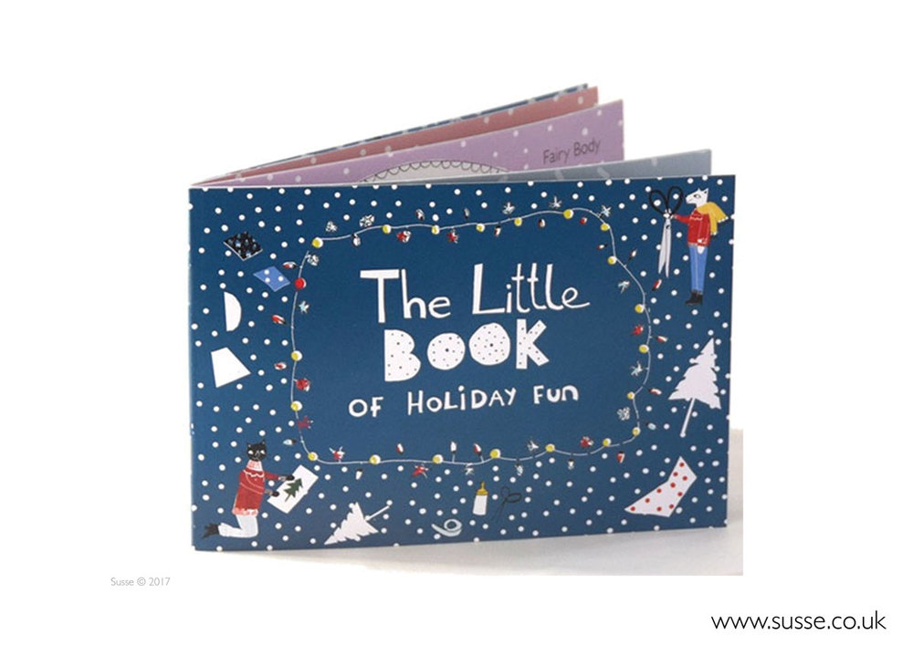 The little book of holiday fun. Children's activty book.