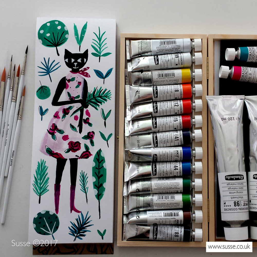New art materials Susse