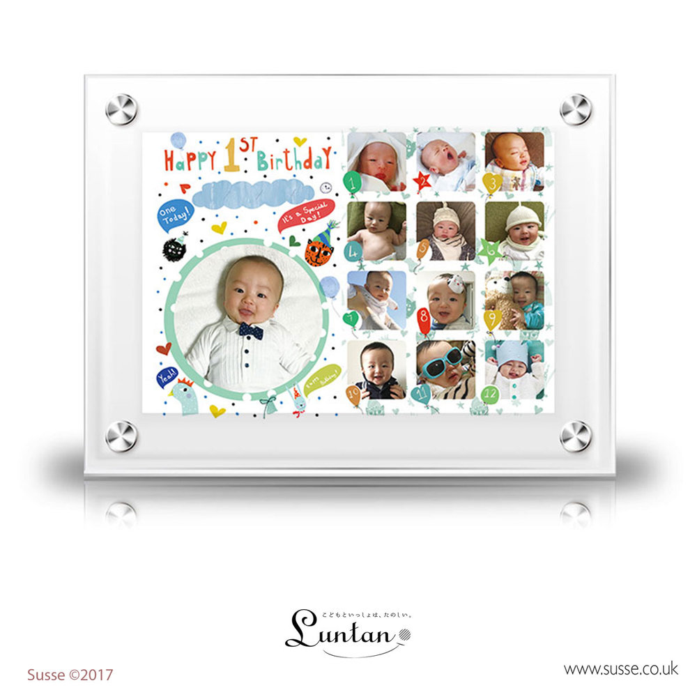 Animal party frame Luntan Susse