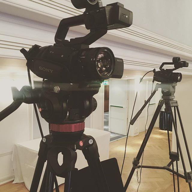 2-kamera produksjon på Hotel Bristol!