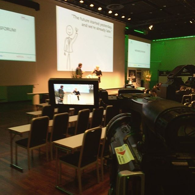 Dag 2 av #ehandelsforum er i gang #video #opptak #streaming #vod