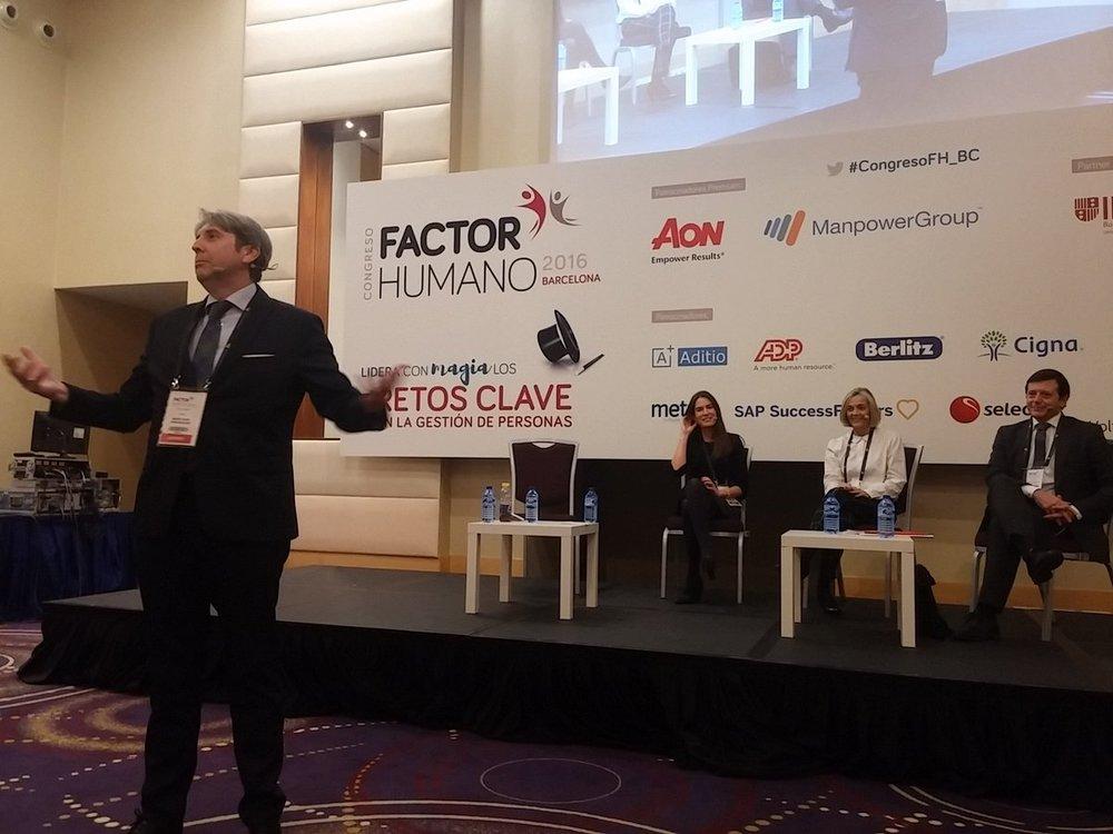 Congreso factor humano 2016 barcelona