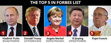 Los más poderosos del mundo en 2017, según la revista Forbes