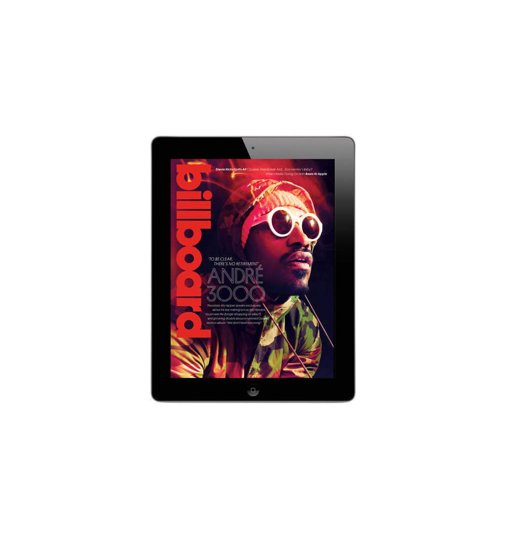Andre 3000 iPad Issue
