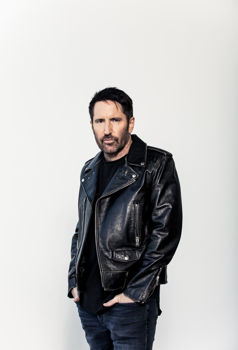 Trent Reznor Photographed by Ramona Rosales
