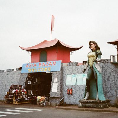 """Asia Bazar für """"das biber"""""""