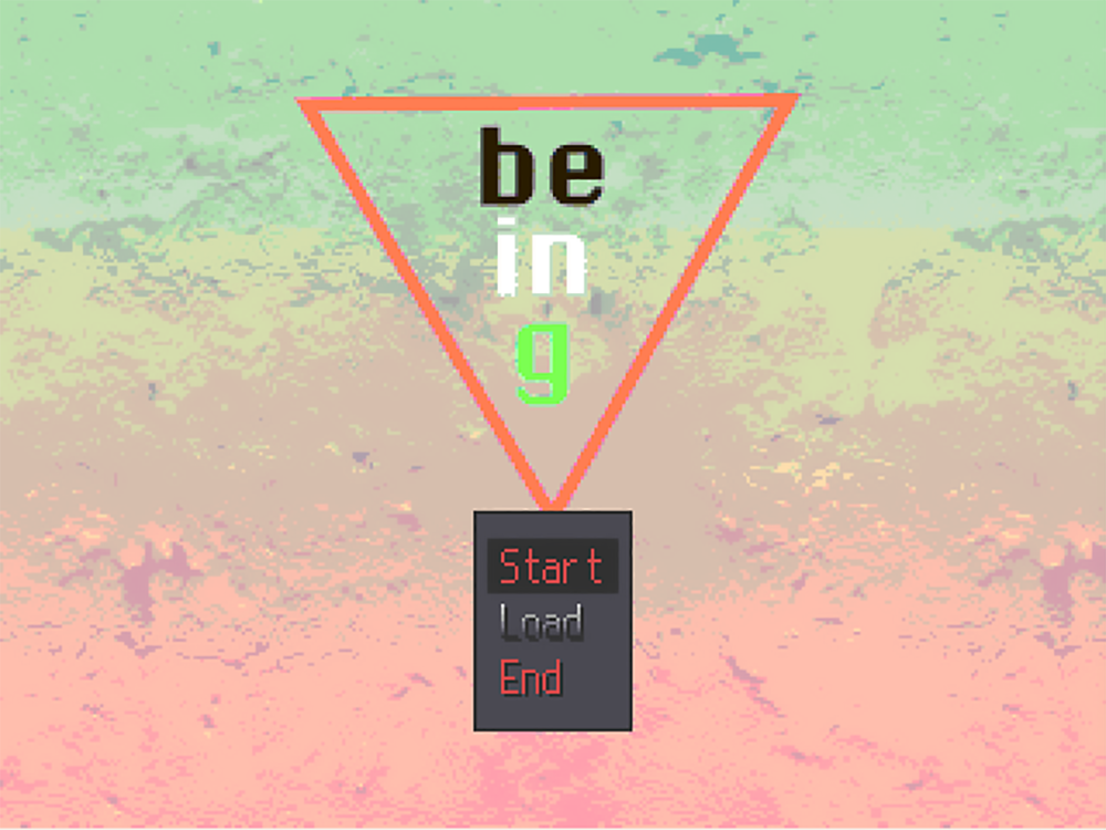 BEING (2017) - an abstract adventure game that explores, from a future lens, the past and present of the palestinian lived experience.