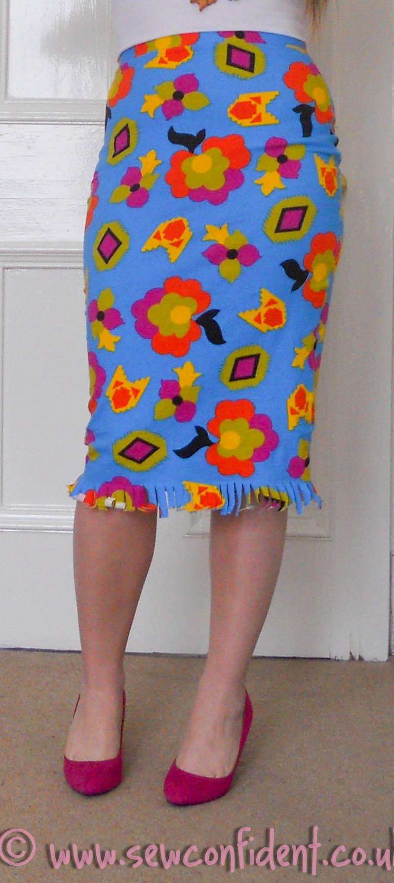 1 Hour Overlocked Skirt Tutorial