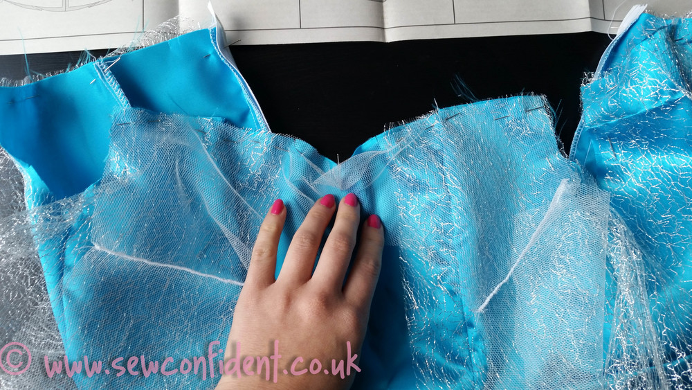Elsa from Frozen Dress Tutorial