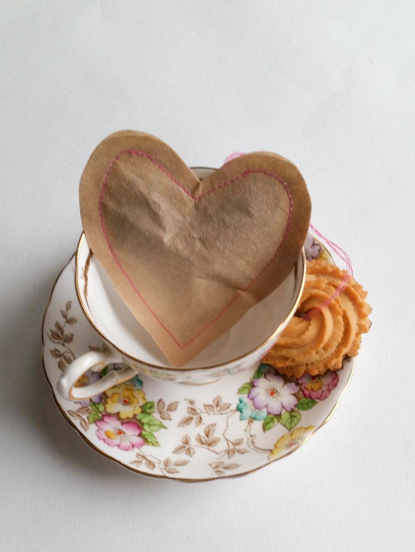 Diy Teabags and tea biscuit recipe!