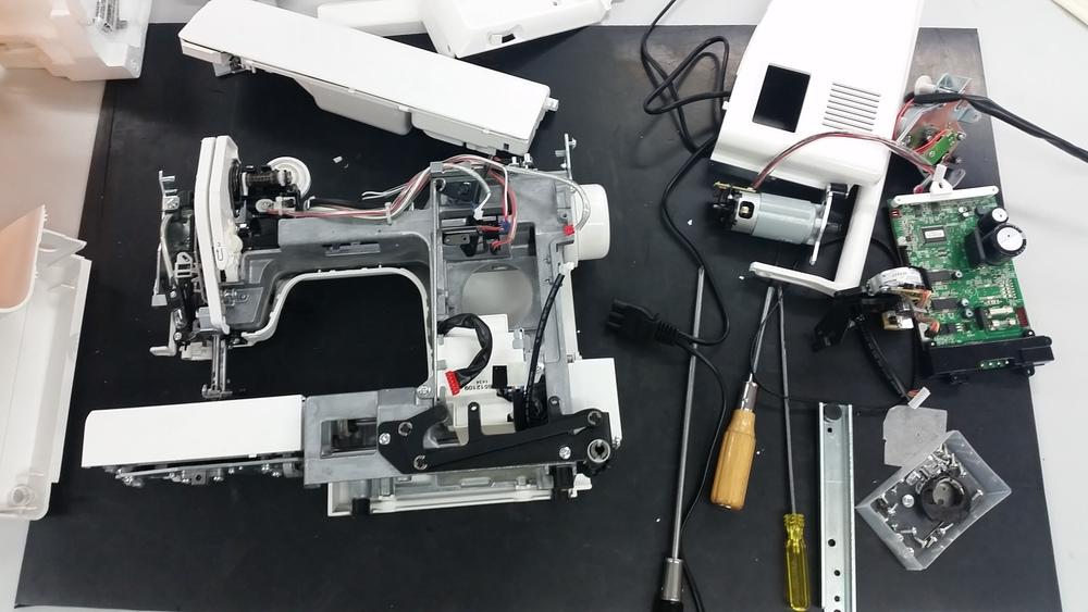 sewing machine servicing glasgow