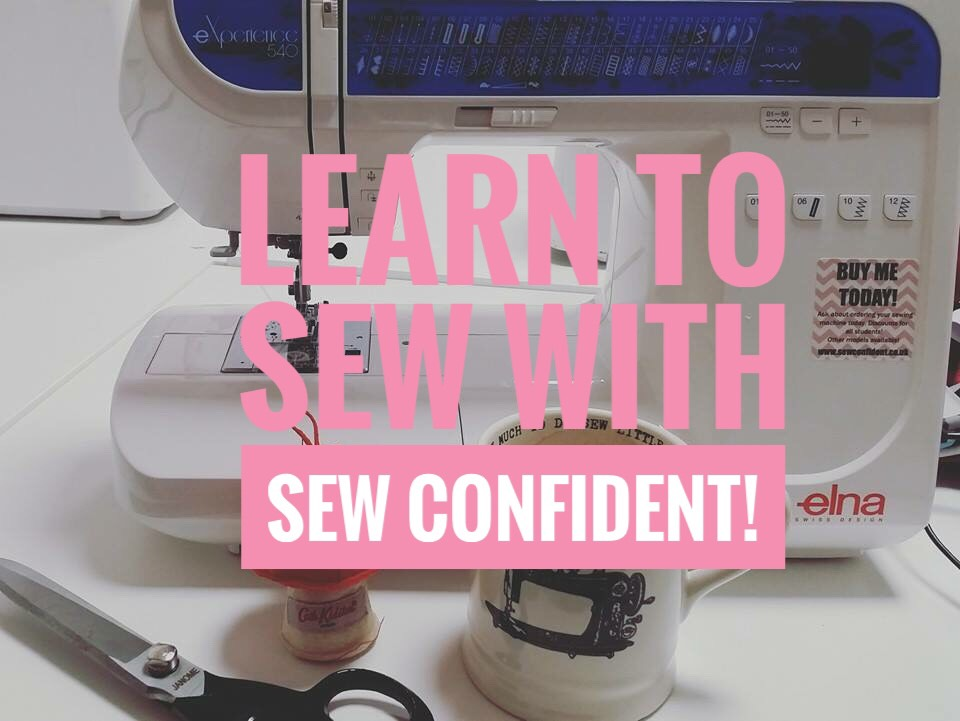 sew confident sew with us