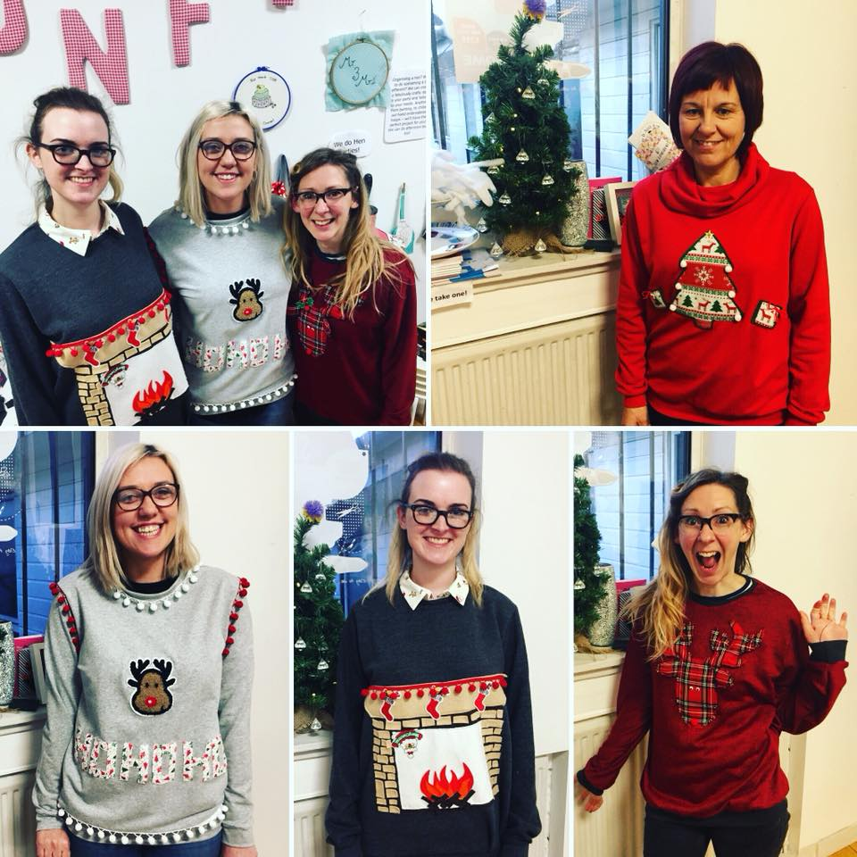 our christmas jumper class