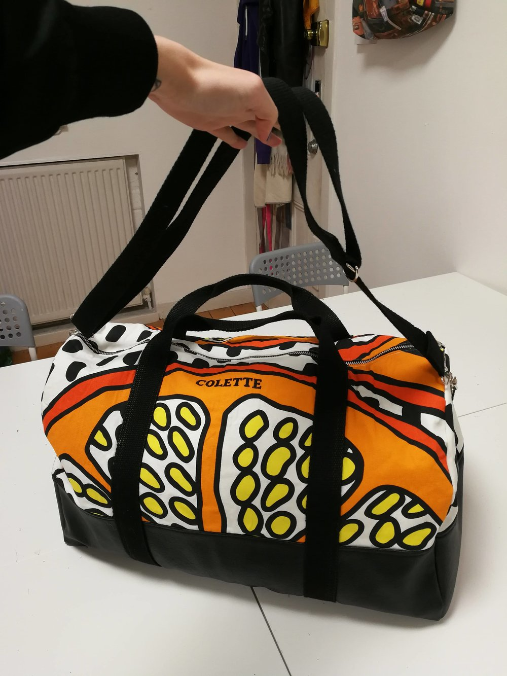 weekend bag by colette c