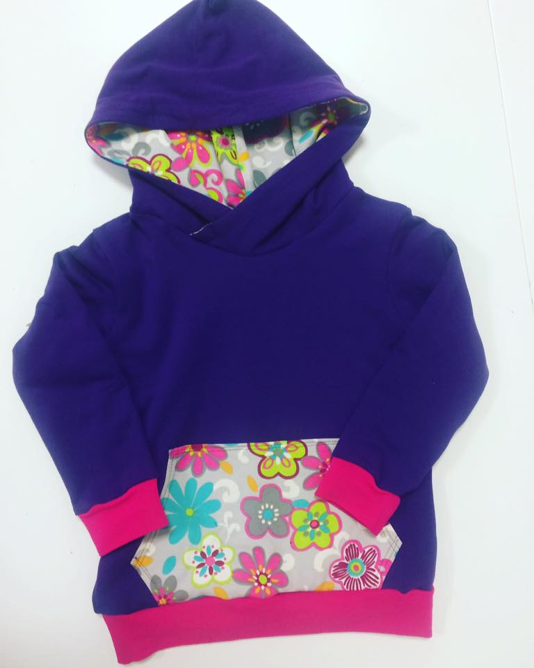 childs hoodie by mel