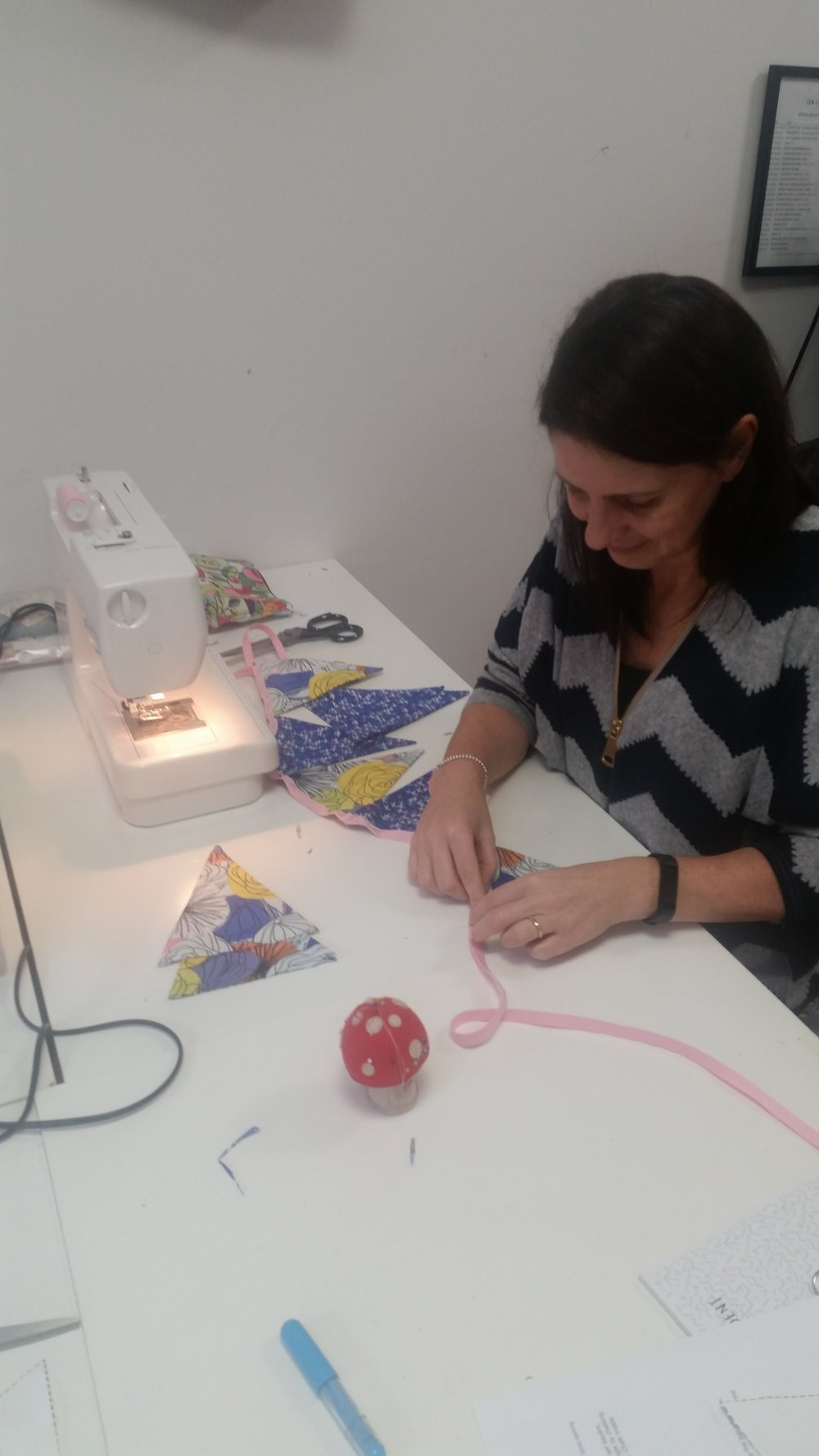 beginners-sewing-class-bunting