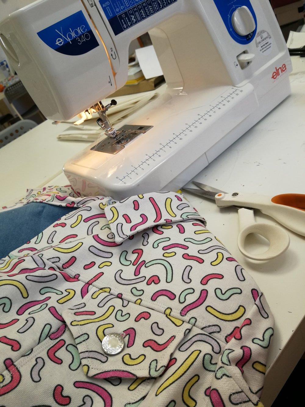 Denim Jacket Pattern by SEAMWORK