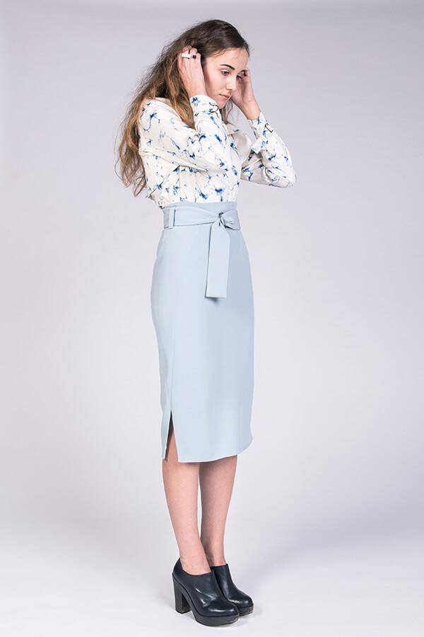 Pulmu High-waisted Pencil Skirt  by NAMED.