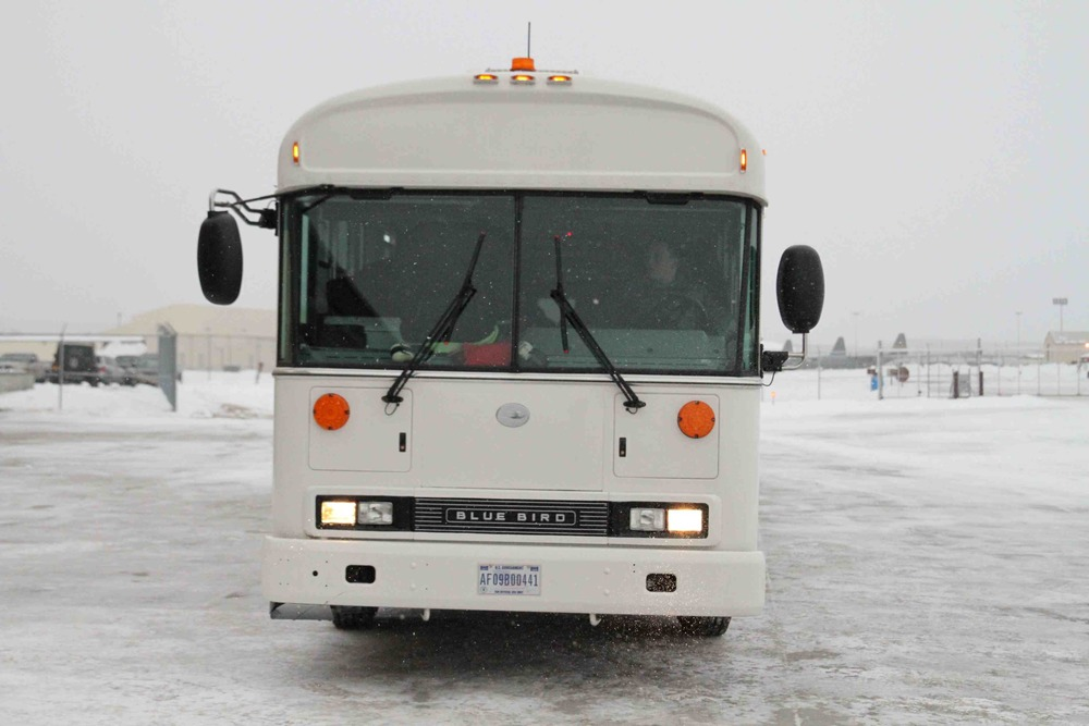 An overheated bus on a frigid Alaskan runway isn't usually regarded as a great way to spend the morning, but adventures have their own logic.