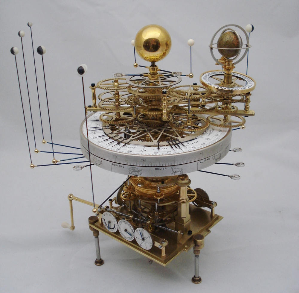 Ordinary and extraordinary: everything in the universe contains aspects of both. Consider the solar system. You could look out upon the real planets, orbiting The Sun or you could build your own model, like this.