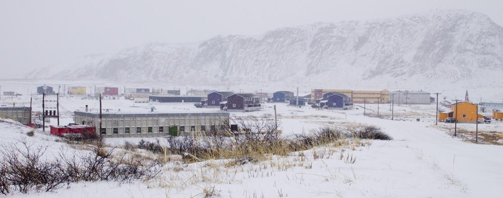 Kangerlussuaq in Snow