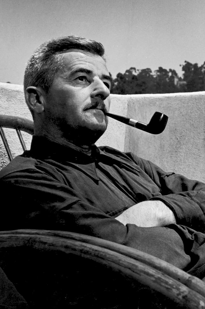 William Faulkner, American literary icon. No, he's not an endocrinologist.