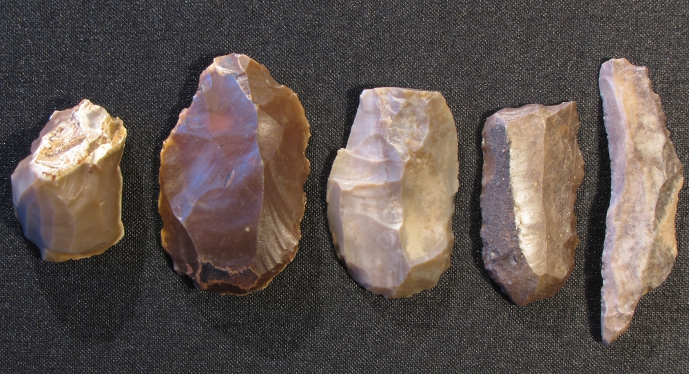 There's nothing random about these paleolithic tools. Plus, they never needed to be recharged.