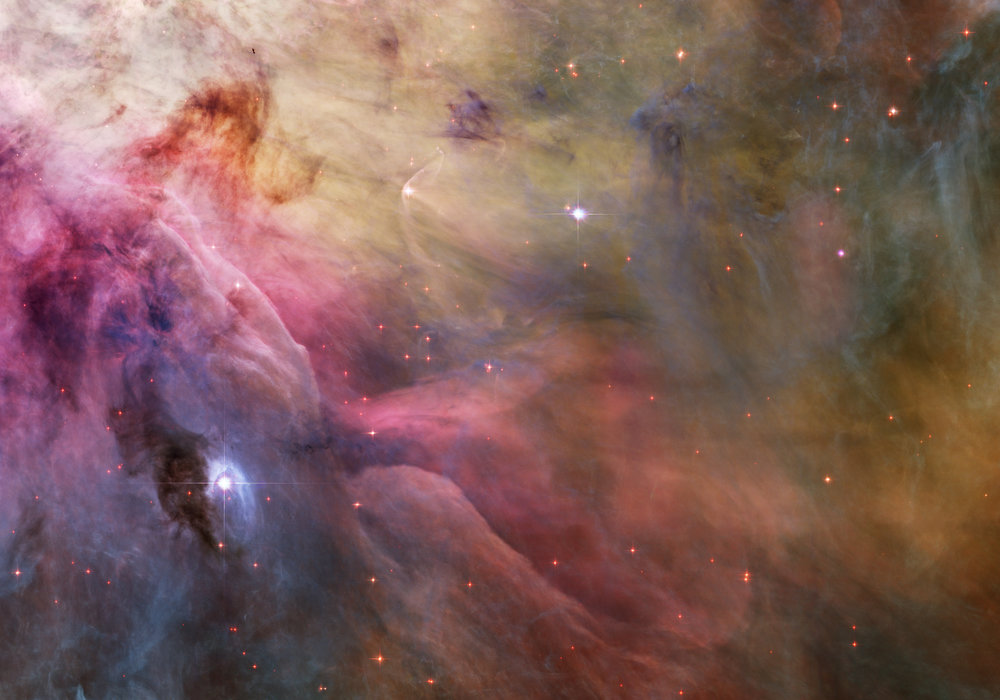 This nebula, The Orion, exists, but it doesn't really look like this.  If that's true, how can we call this a valid, scientifically accurate image? (That's the point of today's blog.)