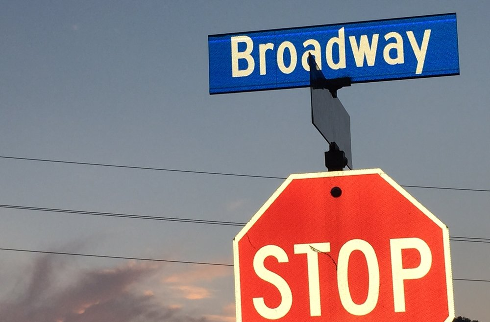 Broadway...but not that Broadway.