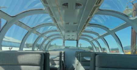The Silver Splendor Dome Coach.