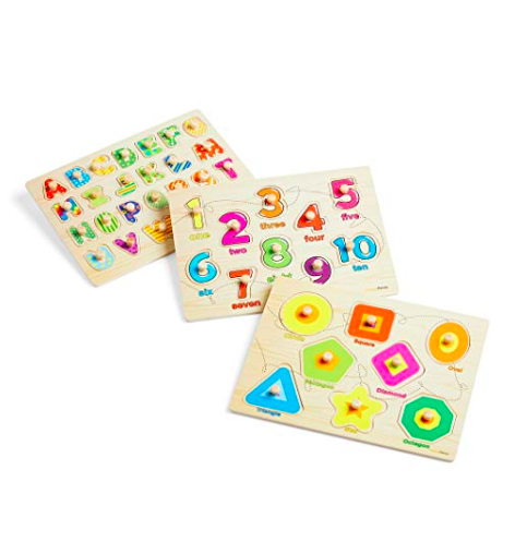 SHAPES PUZZLE - AMAZON
