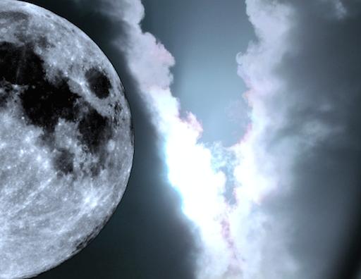 nieuwe maan zonsverduistering april