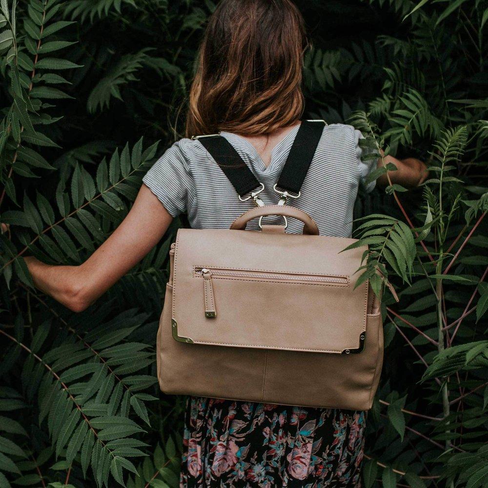 A Beautiful Mess  - vegan satchel