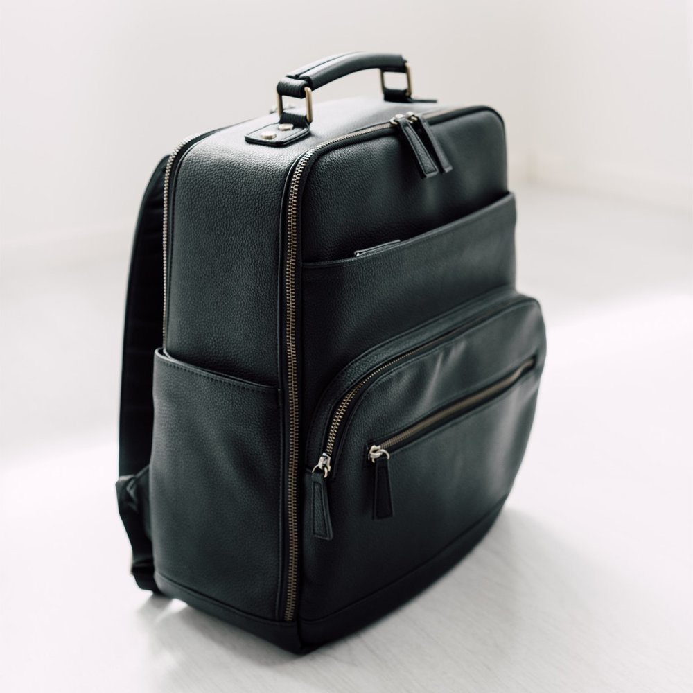 Lyra  - backpack style, vegan leather or canvas