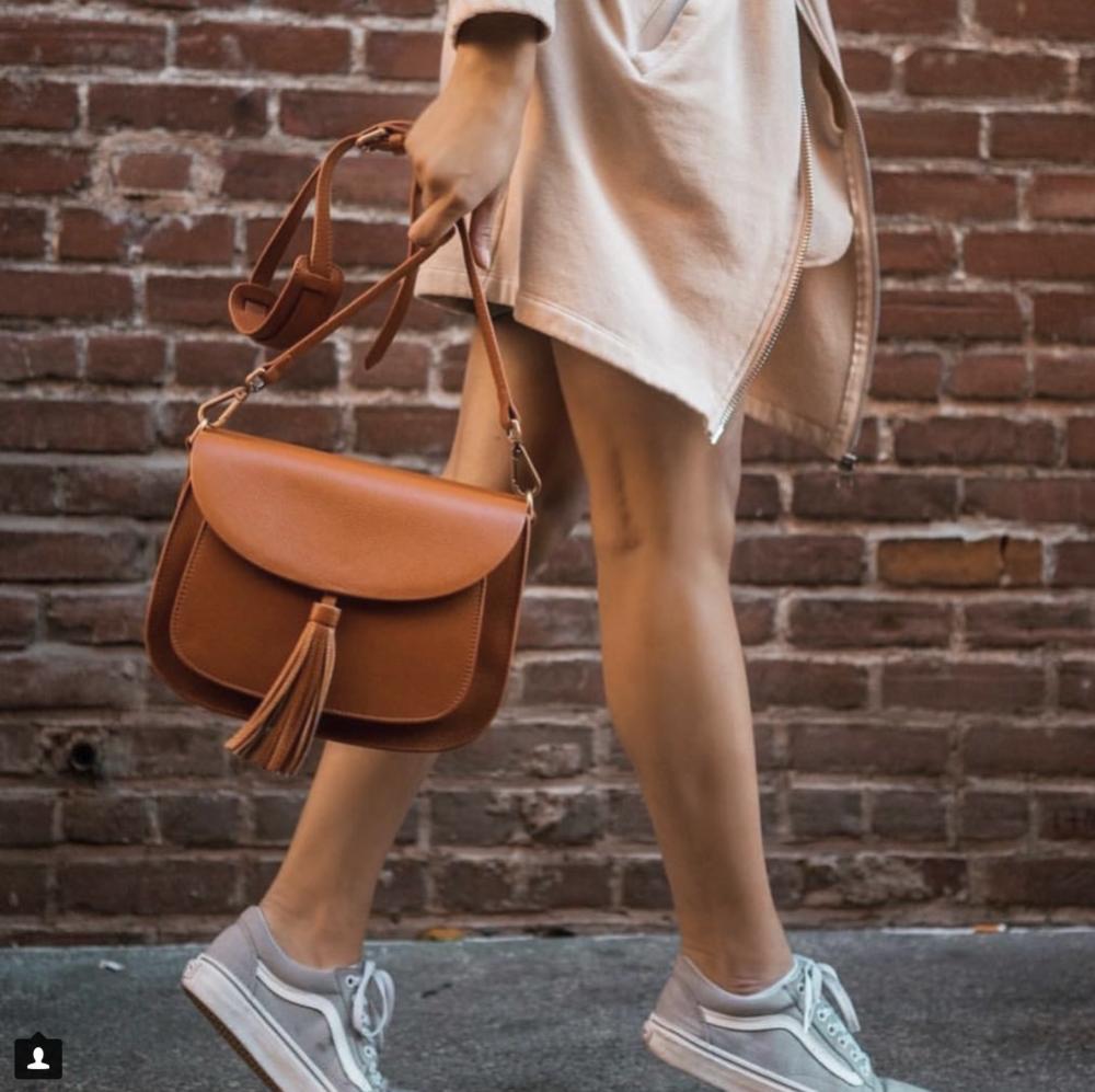 Lola Miel    - purse style bag with tassel