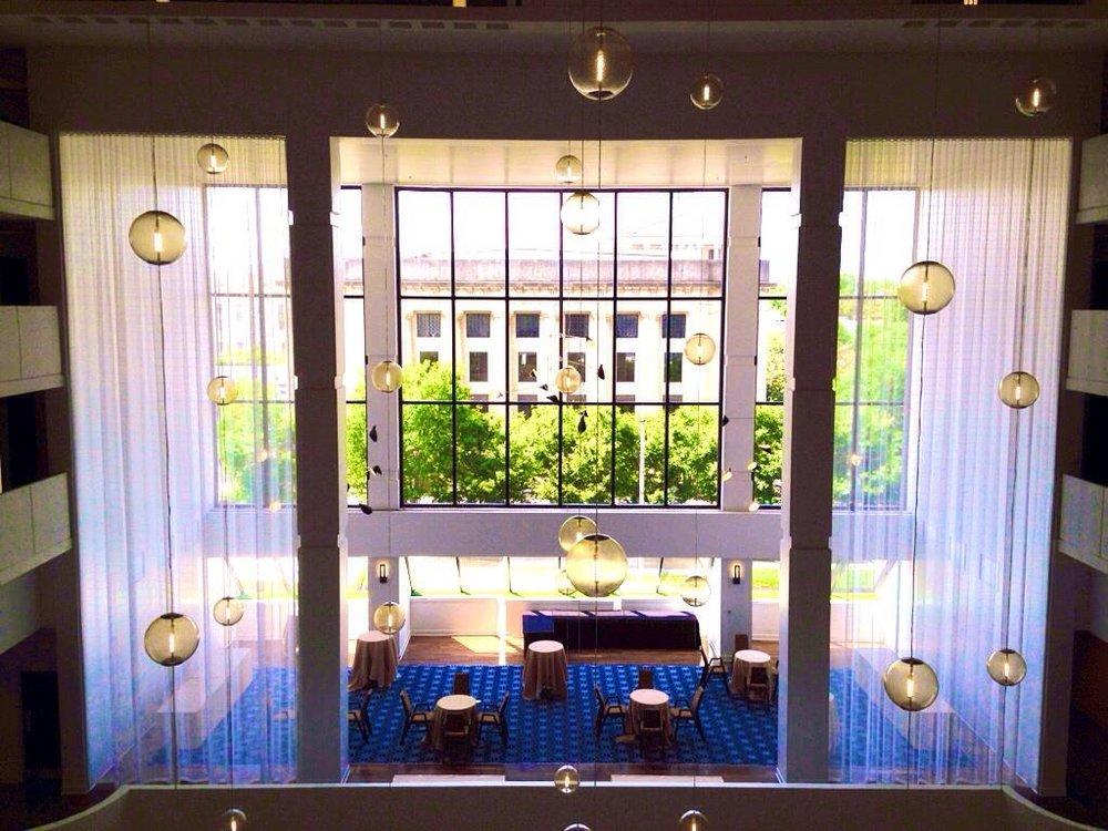 Lobby Sheers, Sheraton Hotel | Nashville