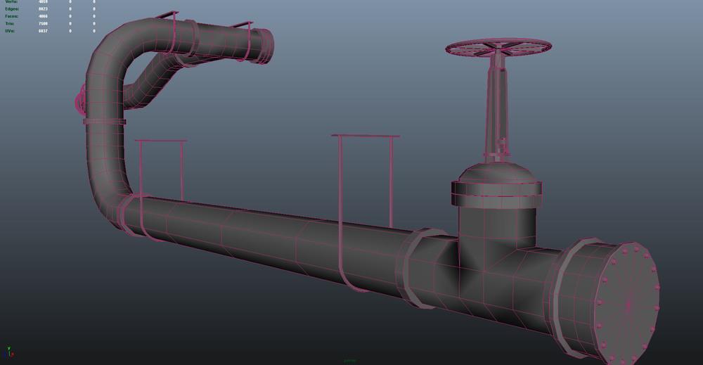 modular pipes - detail