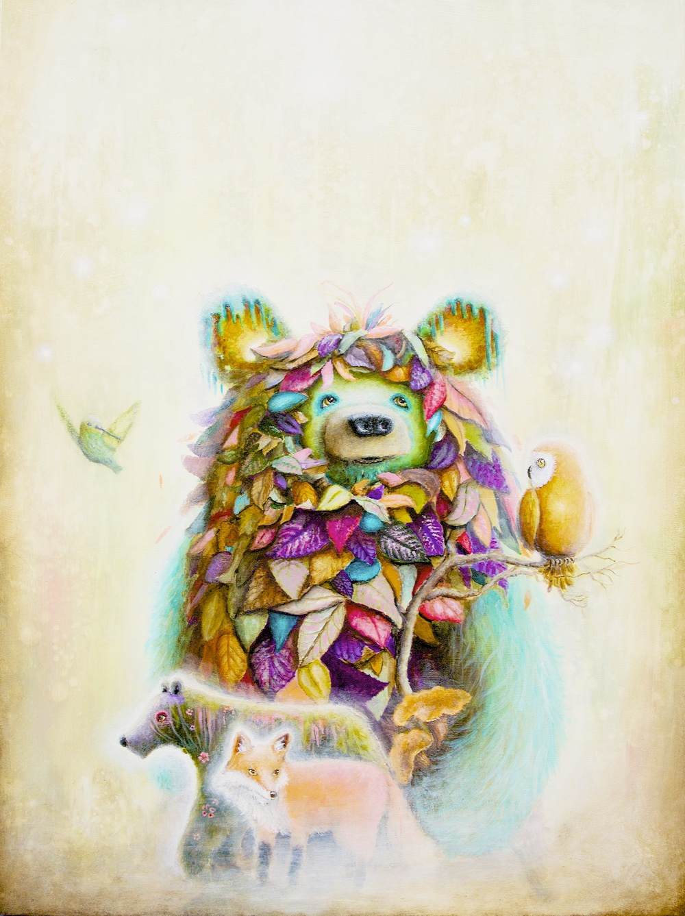 ScottMillsArt - Pop Surrealism - Surreal Art - Bear - Painting.jpg
