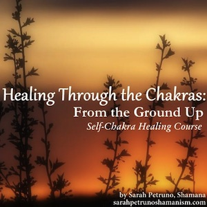 ***New Release***  Healing Through the Chakras: From the Ground Up. A self-led, self-chakra healing workbook