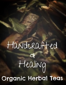 Herbalist handcrafted organic herbal teas
