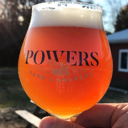 Powers Farm Brewery is making a special lavender beer. Mention the festival and get $1 off!