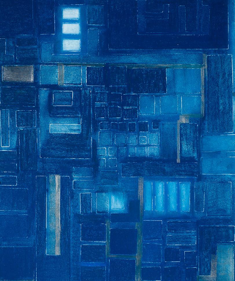 Reconfiguration in Dark Blue (B)