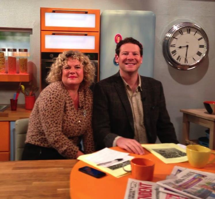 Olly Mann and Eleanor Mills on Lorraine.jpg