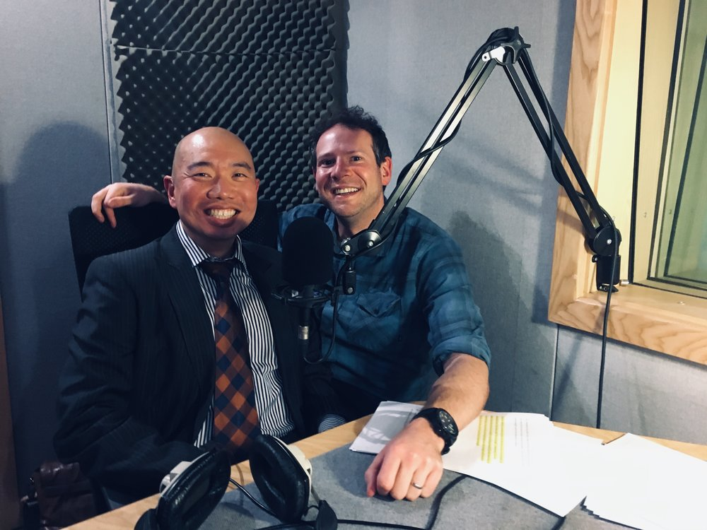 Dr Giles Yeo and me, November 2018
